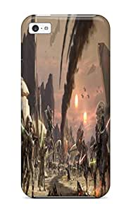 Tpu Case Cover Compatible For Iphone 5c/ Hot Case/ Star Wars The Old Republic Lightsaber S Jedi Swords