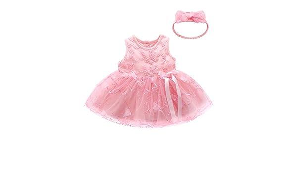 Bestow Vestido de Princesa bebé Vestido Vestido de Flores sin ...