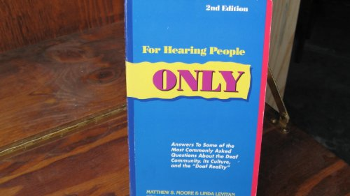 for hearing people only View for hearing people onlypdf from asl 101 at university of san francisco for hearing people only chapter 1 please do your own work and in your own words this is not a partner assignment.
