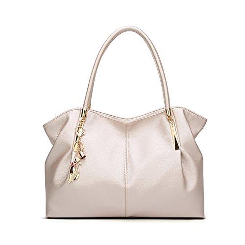 Tisdaini borsetta borsa borse a spalla borse a tracolla donna borse in pelle donna Bianca