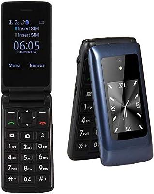 Peedeu Teléfono Móvil para Personas Mayores,Básico 2G T-Mobile con ...