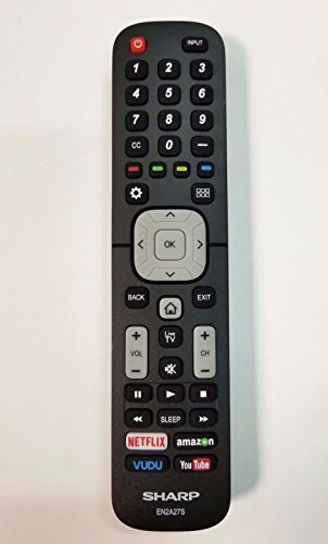 Sharp Electronics EN2A27S TV Remote Control