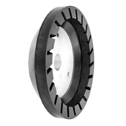 DealMux 150 mm x 16 milímetros x 10mm 6 # Grit alumínio base de vidro Resina abrasivo roda by DealMux