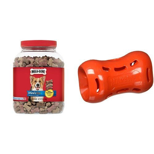 Milk-Bone Flavor Snacks Dog Treats and Active Treat Dispensi
