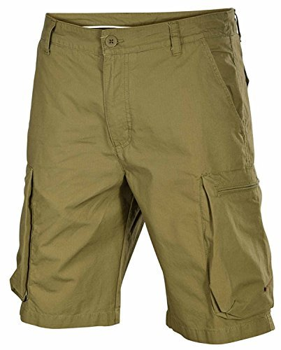 Nike Men's Woven Performance Cargo Shorts-Olive-32