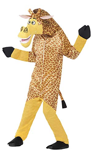 Smiffy's Children's Madagascar Melman The Giraffe Costume, All-in-one -