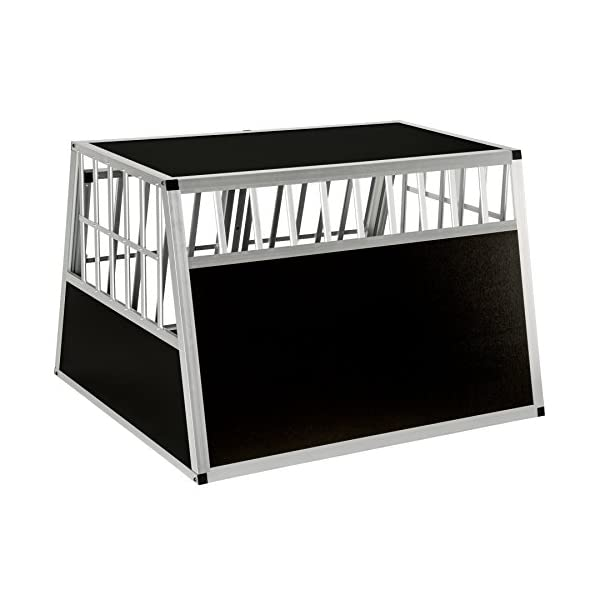 TecTake Dog cage trapezoidal - different models - 7
