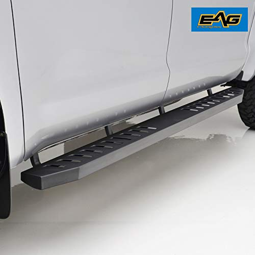 - EAG Vicious Style Running Boards for 05-15 Toyota Tacoma Double Cab (Nerf Bars | Side Steps | Side Bars)