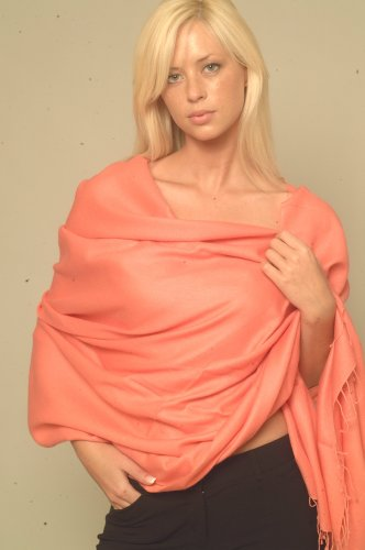 Scarf/Shawl/Wrap/Stole/Pashmina Shawl in Solid Colors from Cashmere Pashmina Group
