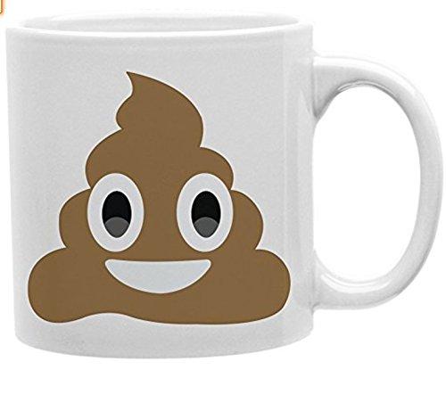 Poop Mug Emoji Funny Mug Coffee Makes me Poop 11 oz