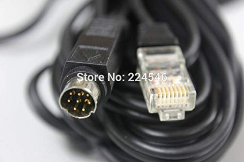 FENGYI KEJI Used 8-pin DIN to RJ-45 Cable for Lifestyle AV 18 28 35 38 48 Media Center Cable Subwoofer 9meters