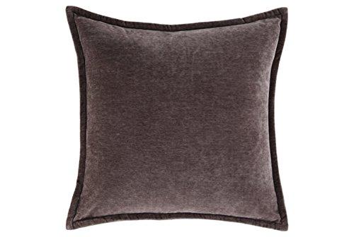 (Ashley Furniture Signature Design - Irene Throw Pillow - Contemporary - Charcoal Velvet )