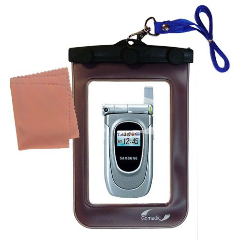 outdoor Gomadic waterproof carrying case suitable for the Samsung SGH-Z105 to use underwater - keeps device clean and dry by Gomadic (Image #3)