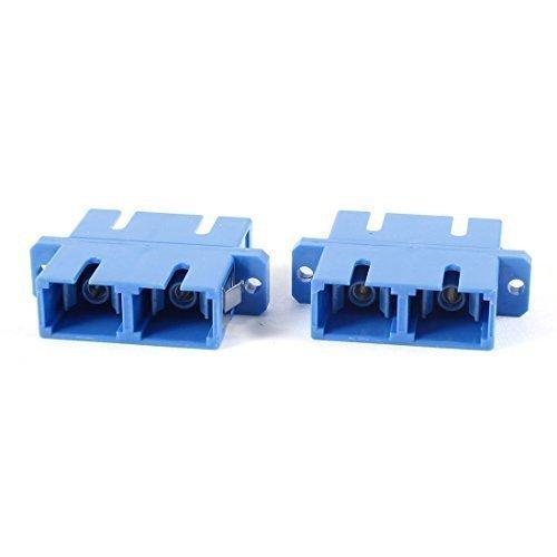 2 Stk SC zu SC Duplex Flansch Ballaststoffe Optik Verbinder Adapter de