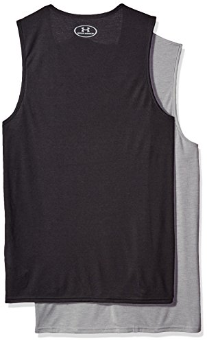 Under Armour Men's Core Tank Undershirt – 2 Pack