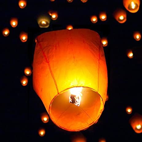 Amazon Com Best Choice Products Paper Chinese Lanterns Sky Fly