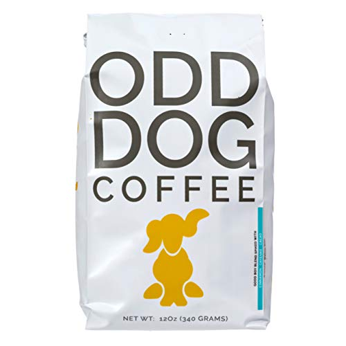 Beans Loco His - Odd Dog Coffee - Good Boy Blend - Cacao Cinnamon and Cayenne Flavored - Whole Bean - 12oz