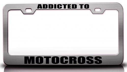 motocross license plate frame - 3
