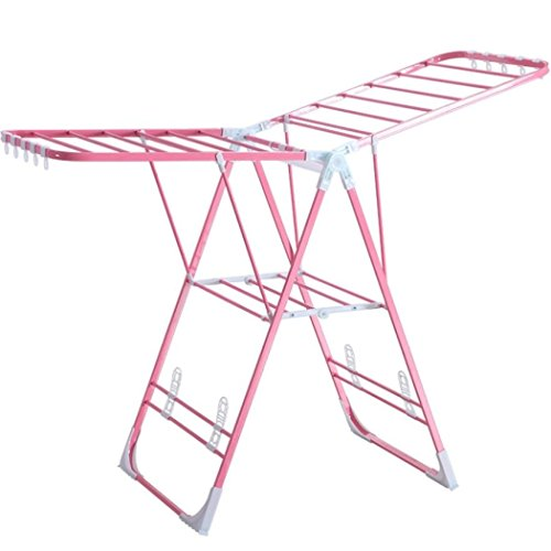 LyMei 2-tier Drying Rack Fold-able Clothes Laundry Dryer Han