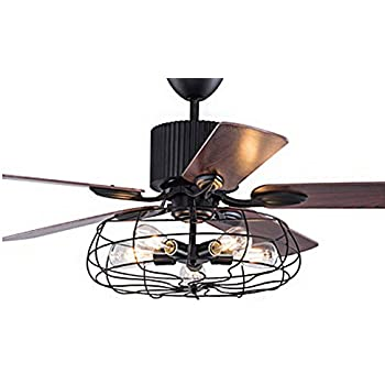 Metropolitan Modern Double Ceiling Fan in Oil Rubbed