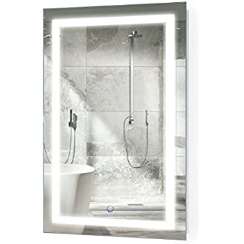 Amazon Com Led Bathroom Mirror 24 Inch X 36 Inch