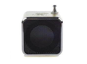 dylanlvwr TD-V26 Portable Mini altavoz Digital que es popular y elegante en diseño es compacto y fácil de usar.: Amazon.es: Electrónica