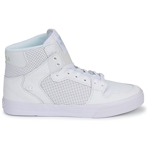 d68c6b550e5 Supra Vaider - White / White, 10.5 D US - Buy Online in Oman. | Apparel  Products in Oman - See Prices, Reviews and Free Delivery in Muscat, Seeb,  Salalah, ...