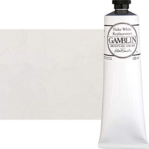 Gamblin Artist Oil Color - Flake White Replacement - 150 ml Tube ()