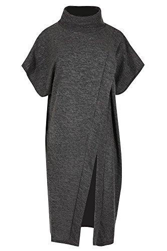 fourrure Outlet Femme Polo femmes tricot Wrap Tricot Oops Cape Chale dFq8wTvvxH