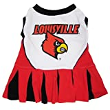 Louisville Cardinals Dog Cheer Leading Dress & Leash Set Size XS