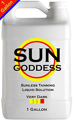 Sun Goddess - VERY DARK - 1 Gallon - Sunless Self Tanning...