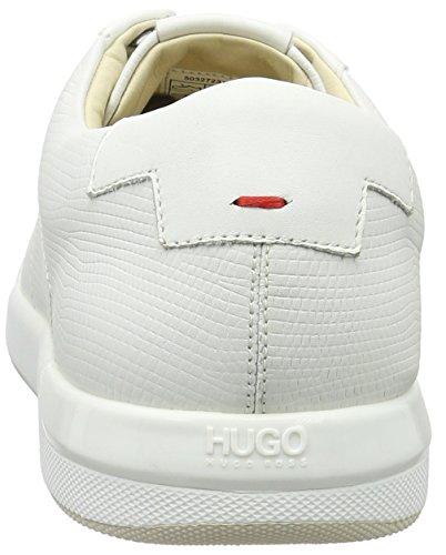 Hugo Fusion_tenn_ltexo 10195392 01, Zapatillas para Hombre Blanco (White 100)
