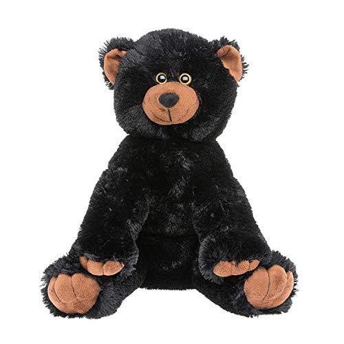 (Cuddly Soft 16 inch Stuffed Plush Black Bear - We stuff 'em...you love 'em!)