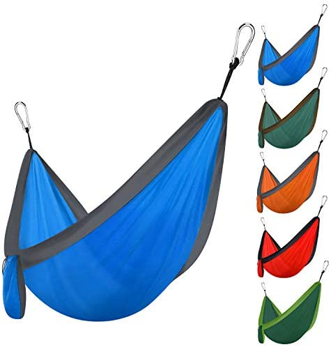 Hammock Portable Double Hammocks for Hiking Camping Backpacking Travel Yard Beach