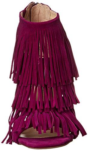 Steve Madden Fringly, Sandales Plateforme Femme purple