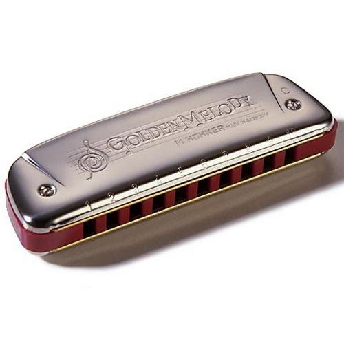 Hohner Golden Melody Harmonica (C) for sale  Delivered anywhere in USA