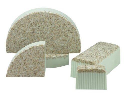 Oatmeal Mint Bulk Soap Loaf- (80 oz = 5 Pounds) Brand: Hugo Naturals
