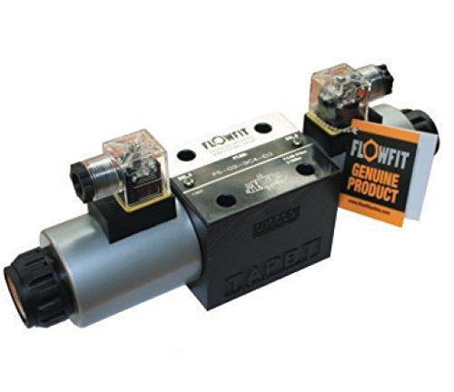 Flowfit cetop 5 ventil NG10 doppelt wirkendes,110VAC 50Hz, P Blockiert,A & B Offen zum behälter in De-energetisiert