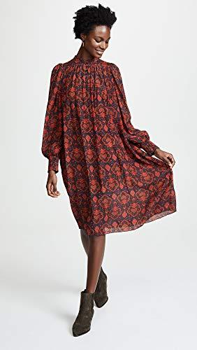 Vestido Dress red Mujer Antik Para Myle Rouge Batik Red pHqwna4tx