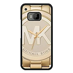 Michael Kors Design Series Luxury Classical Cell Phone Case MK Logo Customised Fine Cover Case for Htc One M9