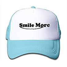 ALIZISHOP Youth Roman Atwood Smile More Adjustable Mesh Trucker Cap