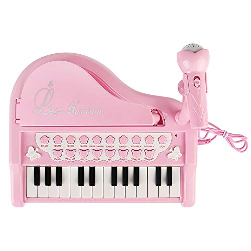 Conomus Piano Keyboard Toy for Kids,1 2 3 4 Year Old Girls First Birthday Gift , 24 Keys Multifunctional Musical Electronic Toy Piano for Toddlers by Conomus (Image #3)