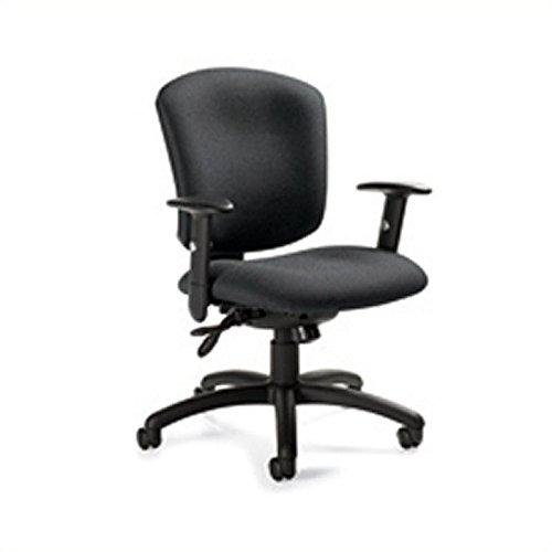 Global Supra X Mid-Back Multi-Tilter Chair, 38 1/2