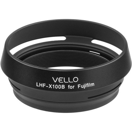 Vello LH-X100B Dedicated Lens Hood (Black) by Vello