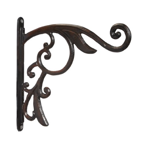 Amertac 849AR Renaissance Plant Bracket, Antique Rust (Discontinued by Manufacturer) (Renaissance Bracket)