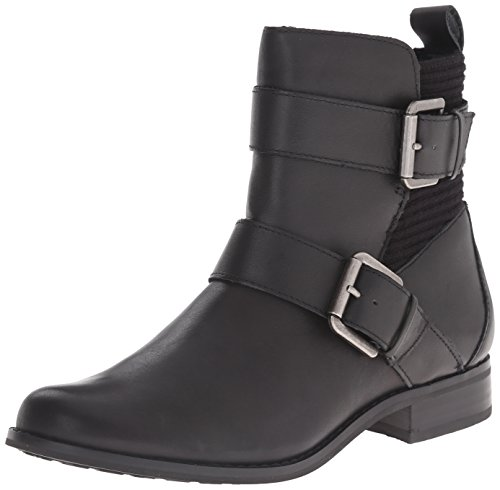 Aetrex Women's Kara Ankle Riding Boot, Black, 5.5 B US