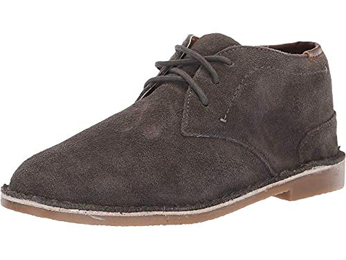 - Kenneth Cole REACTION Kids Boy's Real Deal Suede (Little Kid/Big Kid) Dark Grey 6 M US Big Kid