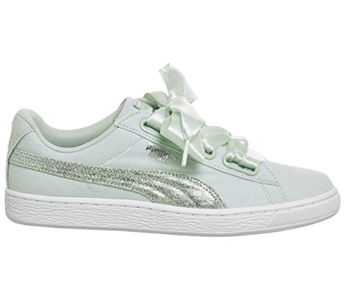 Heart Chaussures Blue Pastel Canvas Puma Flower A6g5xwqA4d