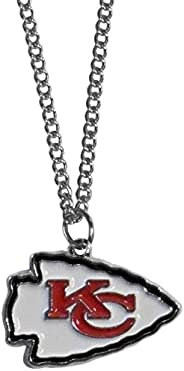 """Siskiyou Sports NFL Kansas City Chiefs Women's NFL Chain Necklace with Small Pendant, 20"""""""