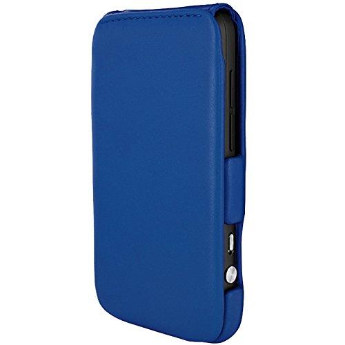 Piel Frama Wallet Case for HTC Evo 3D - Blue by Piel Frama